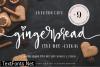 Gingerbread Duo Font
