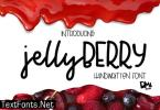 Jelly Berry Font