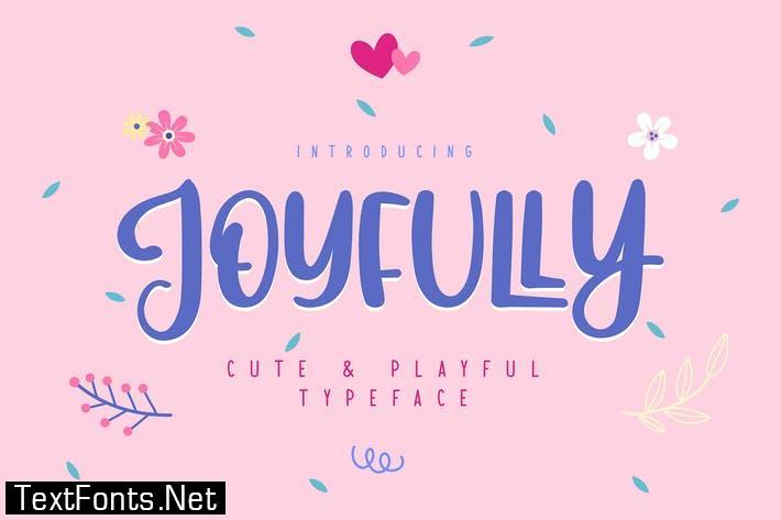 Joyfully | Cute & Playful Typeface