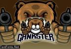 Little Bear Shooting Esport Logo 76D98KW