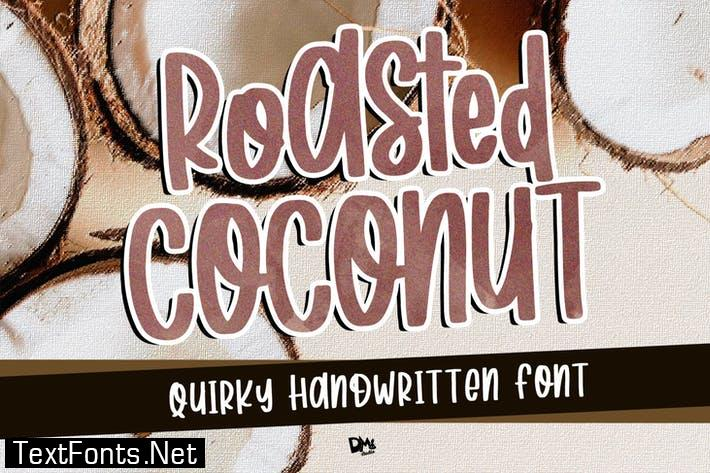 Roasted Coconut - Quirky Handwritten Font