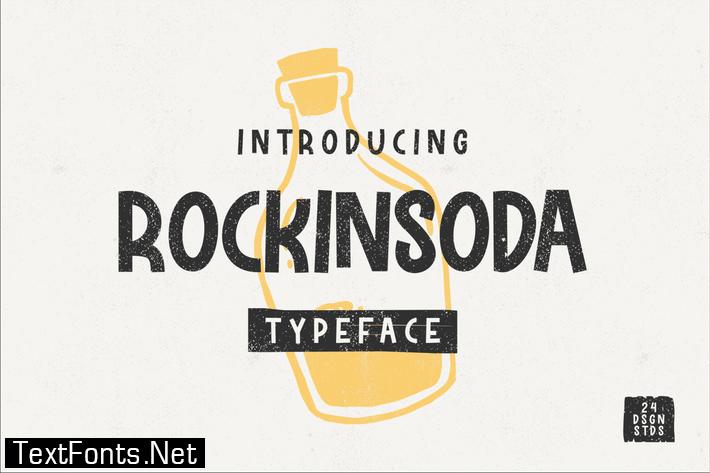 Rockinsoda Font