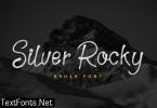 Silver Rocky Font