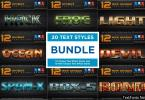 Text Effect Styles Bundle