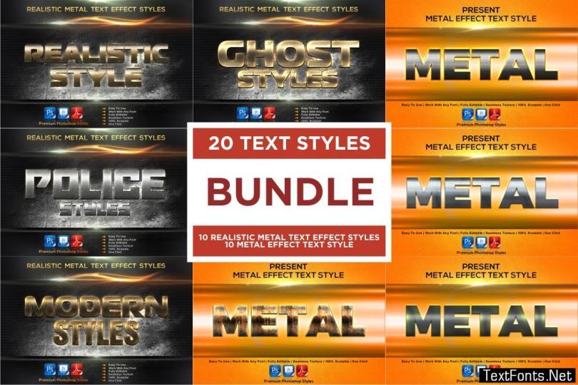 Text Effect Styles Bundle