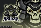 Undead Samurai Esport Logo