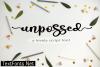 Unpossed Font