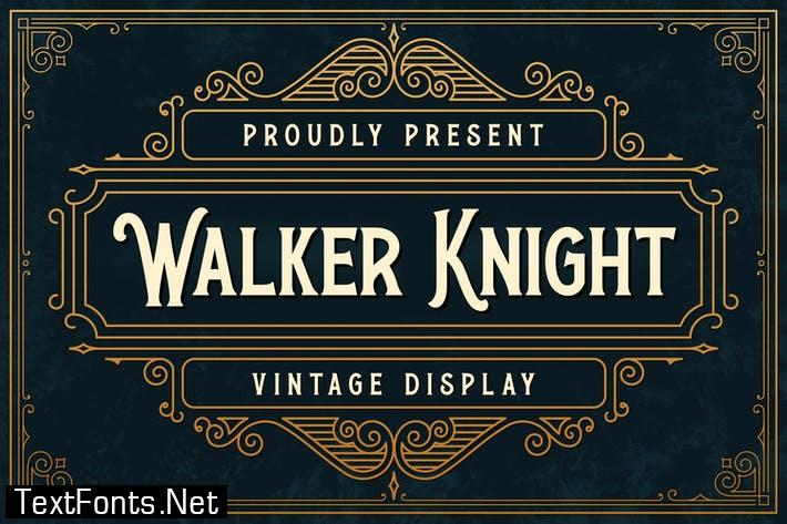 Walker Knight - Vinatge Display