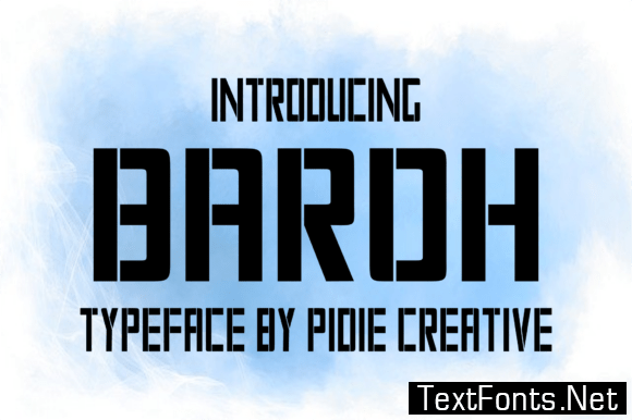 Baroh Font