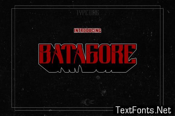 Batagore Font
