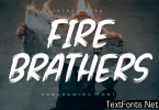 Fire Brathers Font