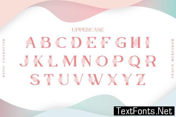 Fragie Monogram Font