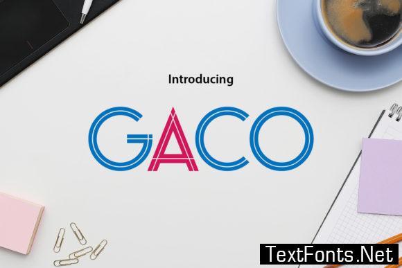 Gaco Font