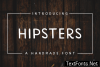 Hipsters Font