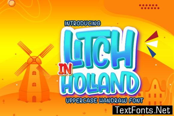 Litch in Holland Font