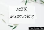 Mir Marlowe Font