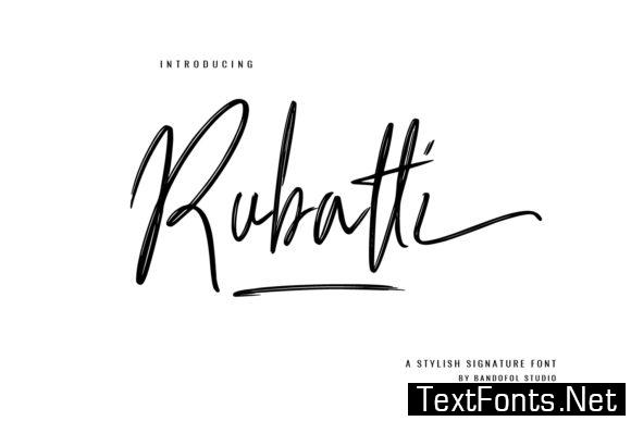 Rubatti Font