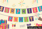 Surprise Party Family Font