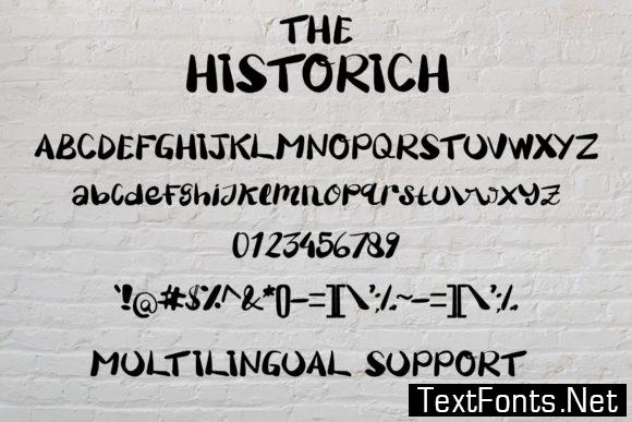 The Historich Font