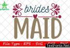Wedding Quote Design, Bridesmaid