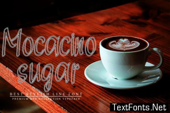 White Coffee Font