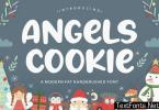 Angels Cookie Brush Font YH