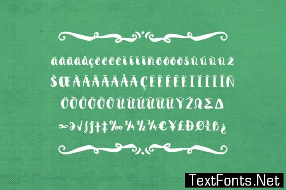 Anne with an E Font