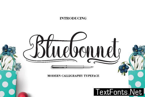 Bluebonnet Font