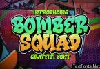 Bomber Squad Graffiti Font