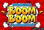 Boom Boom Cartoon Font