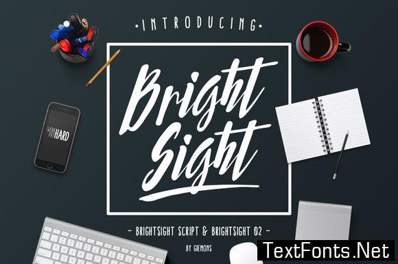 Bright Sight Family Font