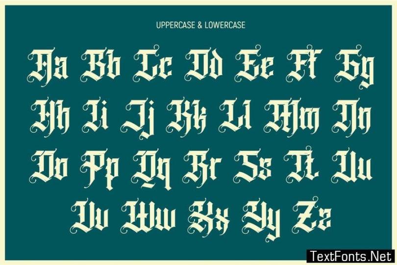 Grindmore Font