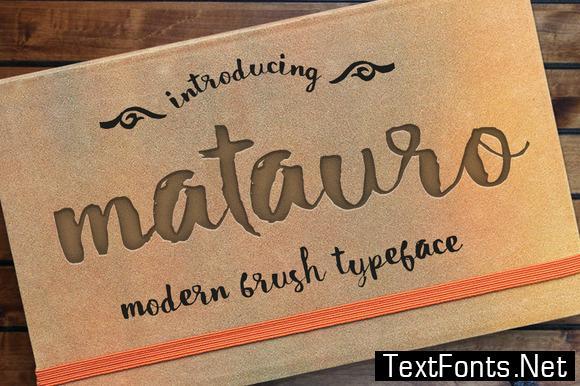 Matauro Font