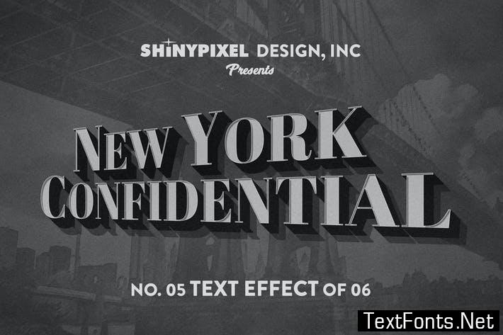 Old Movie Title - Text Effect n° 5 of 6 LNFTJH