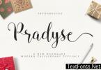 Pradyse Font
