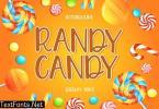 RANDY CANDY Display Font