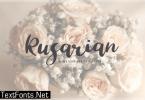 Rusarian Font