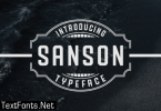 Sanson Font