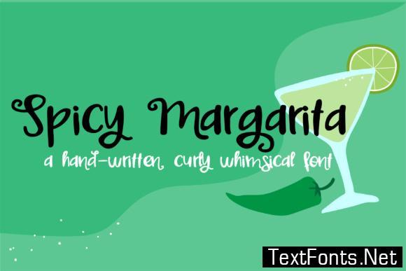Spicy Margarita Font