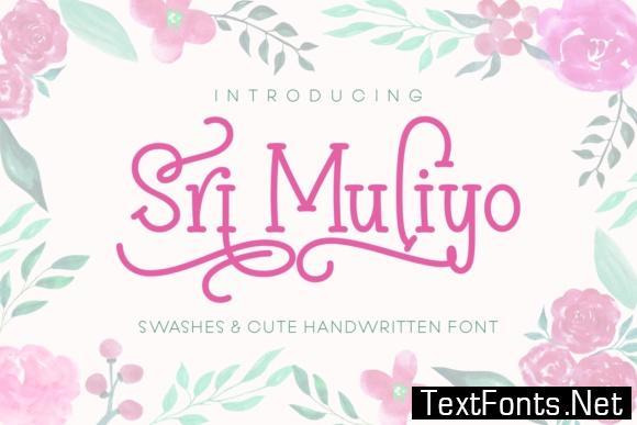 Sri Muliyo Font