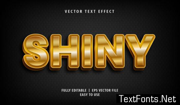 Text Effect - Shiny Text Style