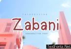 Zabani Font