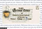 1543 German Deluxe Font
