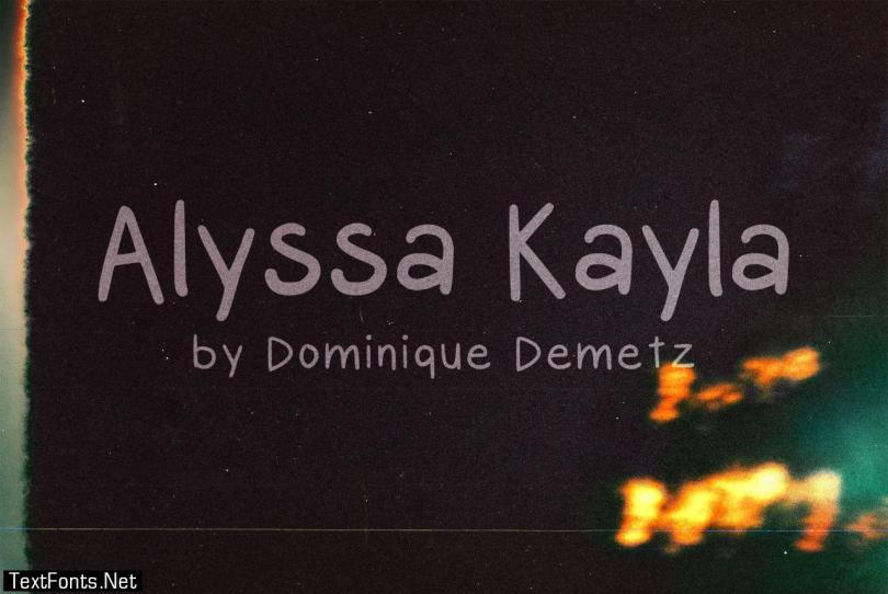 Alyssa Kayla Font