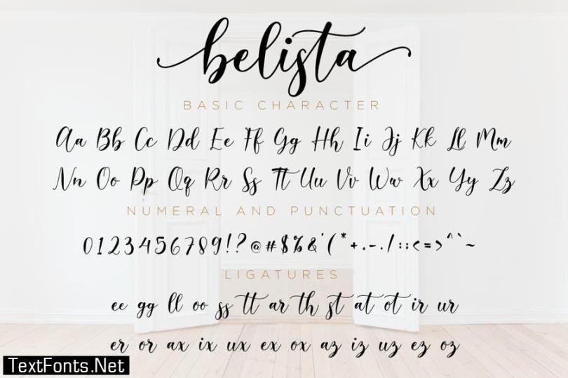 Belista Font
