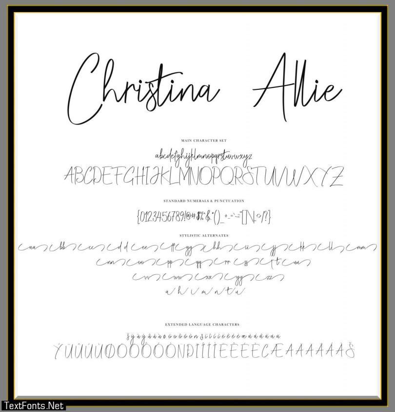 Christina Allie Font