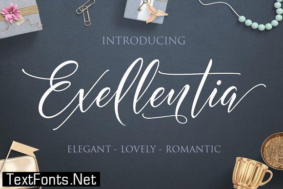 Exellentia Font