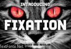 Fixation Font
