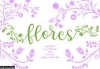 Flores Font