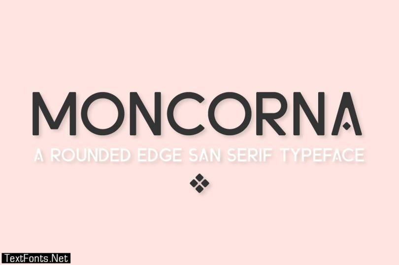 Moncorna Font